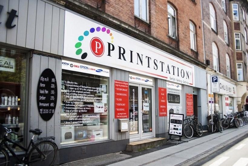 Printstation, frederiksberg